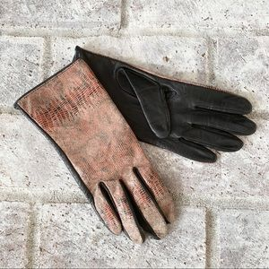 Accessories - Silk Lined Leather Driving Gloves